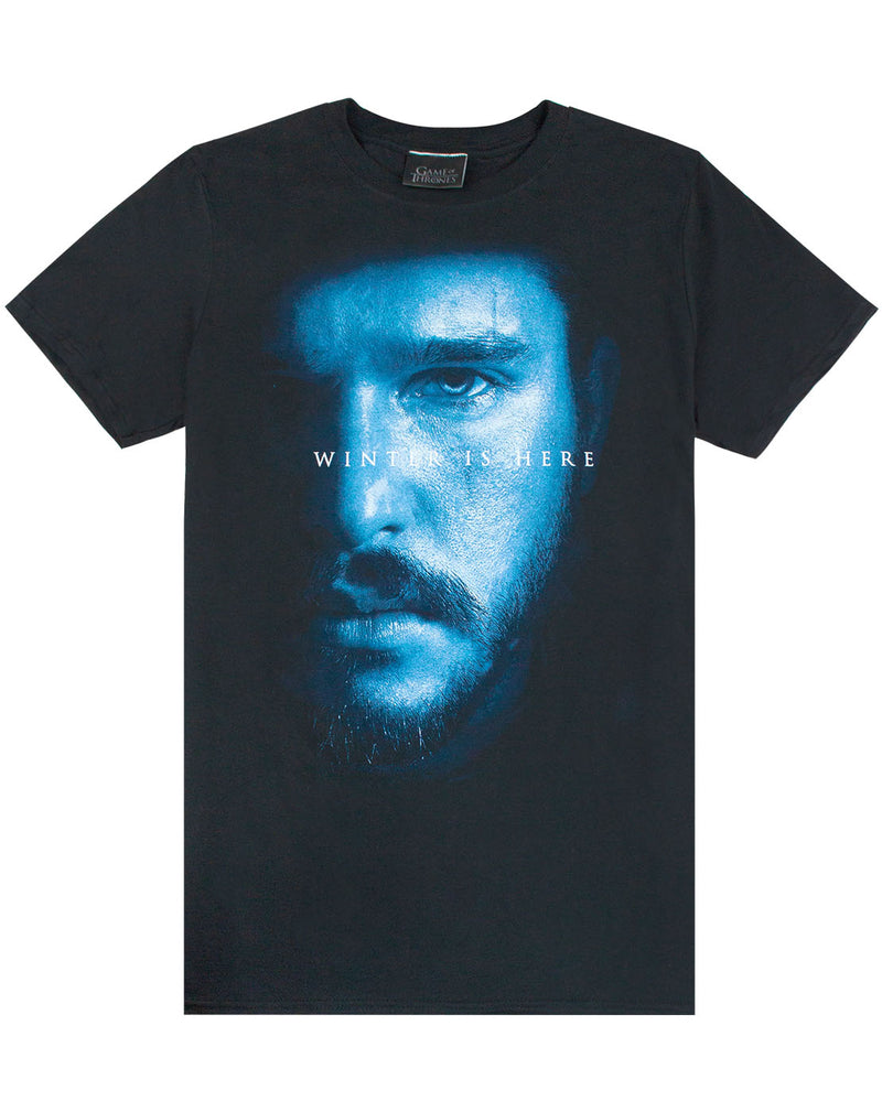 Game Of Thrones Jon Snow Winter Is Here Men's T-Shirt