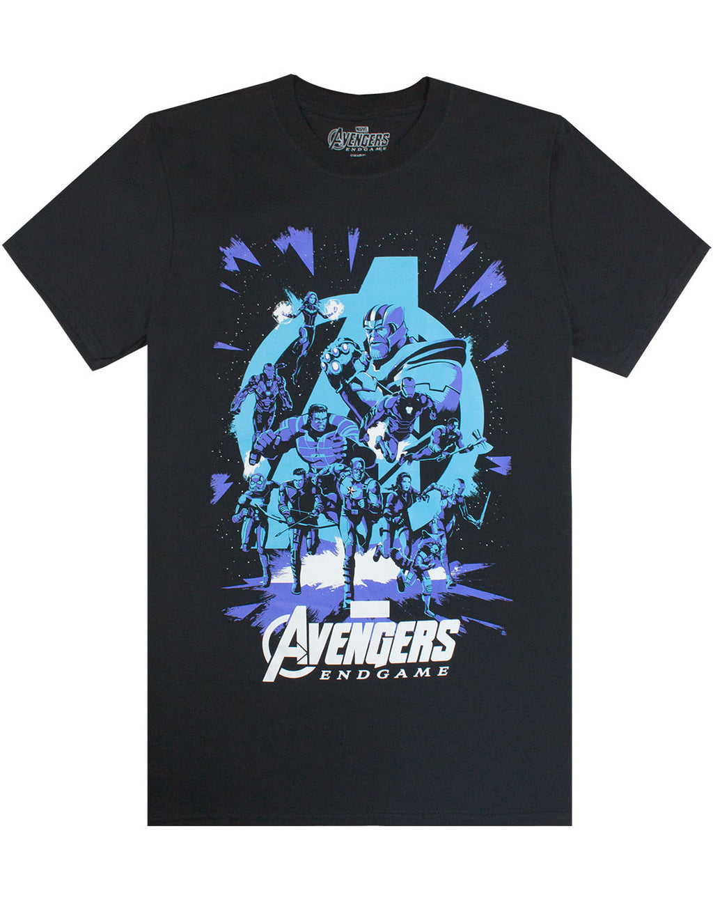 Marvel Avengers End Game Galactic Mens T-Shirt