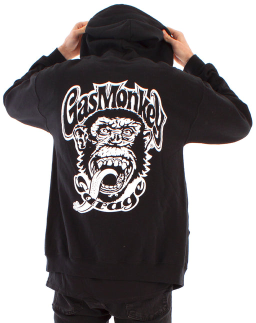 Gas Monkey Garage Official Black Zip Up Hoodie