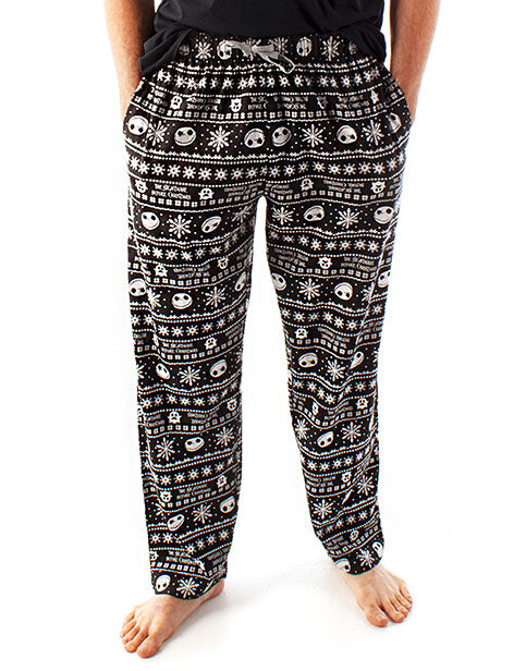 Nightmare Before Christmas Jack Skellington Men's Loungepants Pyjama Bottoms