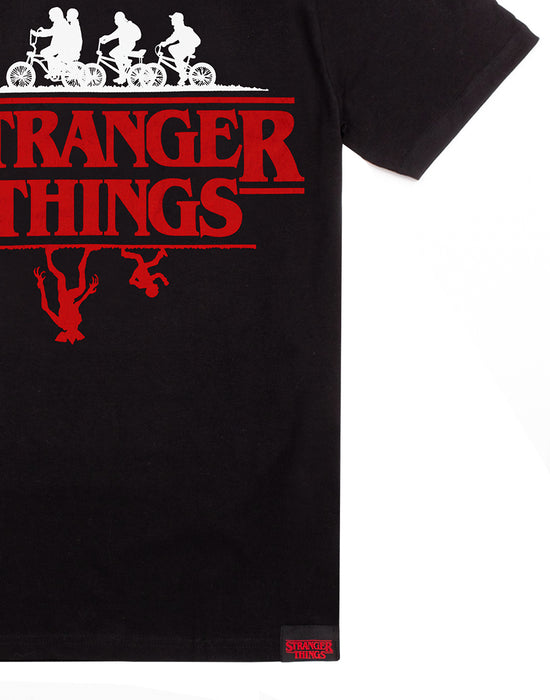 Stranger Things T-Shirt Upside Down Unisex Top Gift For Men & Women