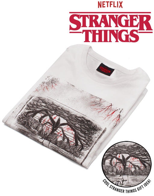 AWESOME MENS STRANGER THINGS THE UPSIDE DOWN T-SHIRT – Our cool Stranger Things t-shirt for men is the best way to show your love for the popular Netflix Original series, The Stranger Things!