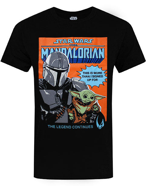 AWESOME MANDALORIAN BABY YODA T-SHIRT FOR ADULTS – Our cool Baby Yoda t-shirt for men and women is the best way to show your love for the popular series, The Mandalorian!