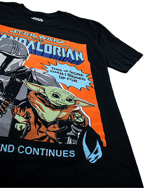 COTTON BABY YODA TOP – The Star Wars Yoda top is made from 100% cotton for a cosy, light and very soft to touch feel. Perfect for your winter, spring, summer and fall wardrobe, this shirt has standard short sleeves and a crew neck for a real stand out Madalorian garment.