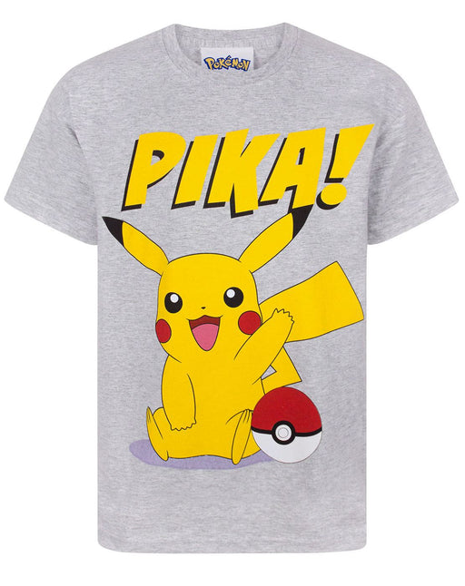 Pokemon Pika Boys T-Shirt