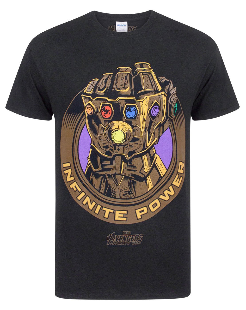 Marvel Avengers Infinity War Thanos Infinity Gauntlet Men's T-Shirt