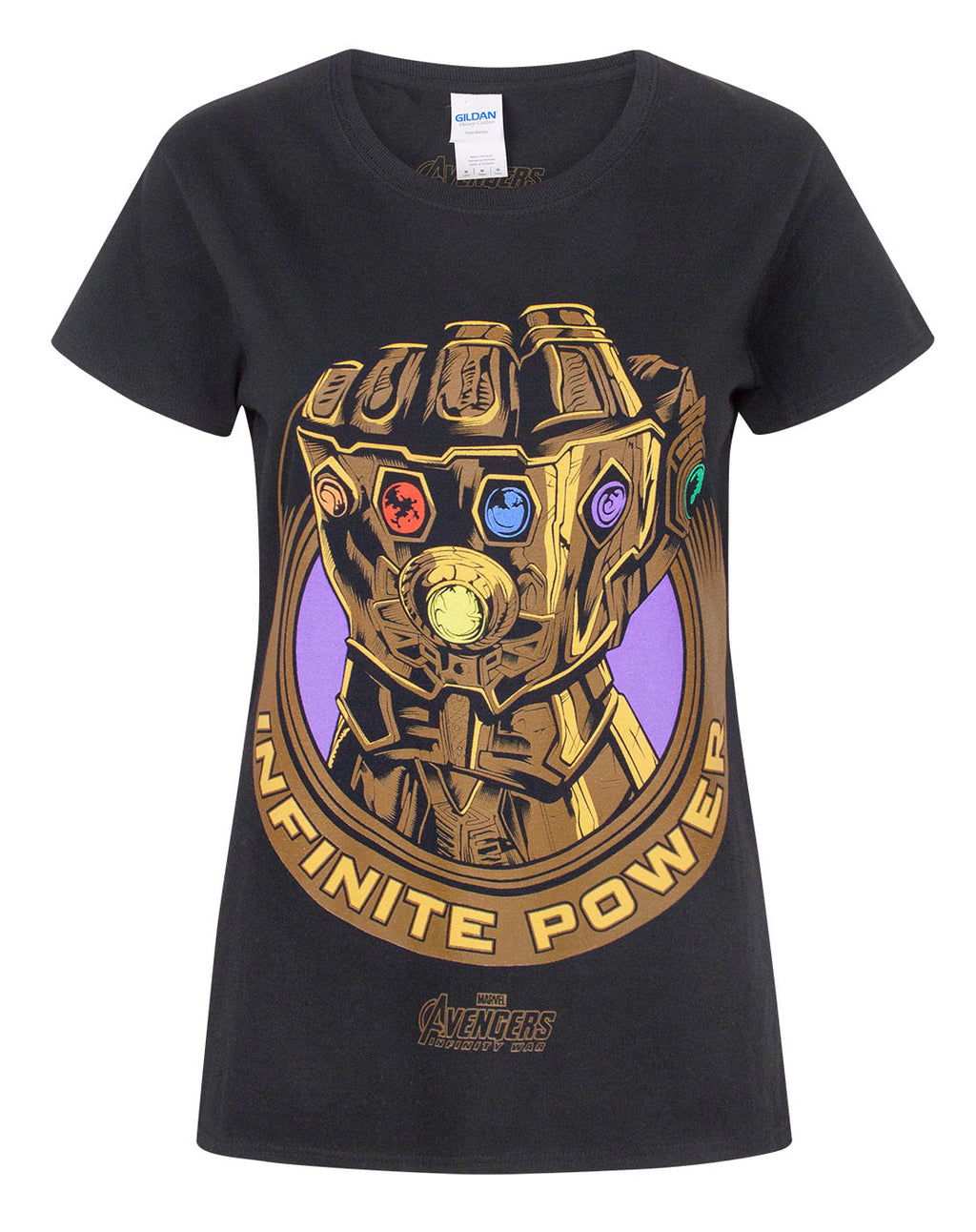 Marvel Avengers Infinity War Thanos Infinity Gauntlet Women's T-Shirt
