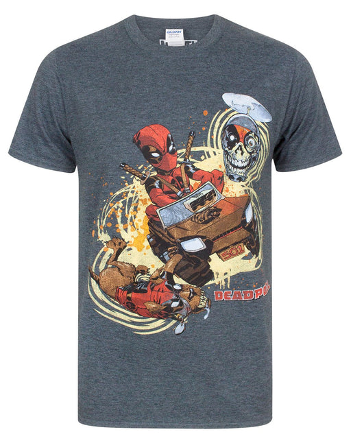 Marvel Deadpool 4x4 Men's T-Shirt