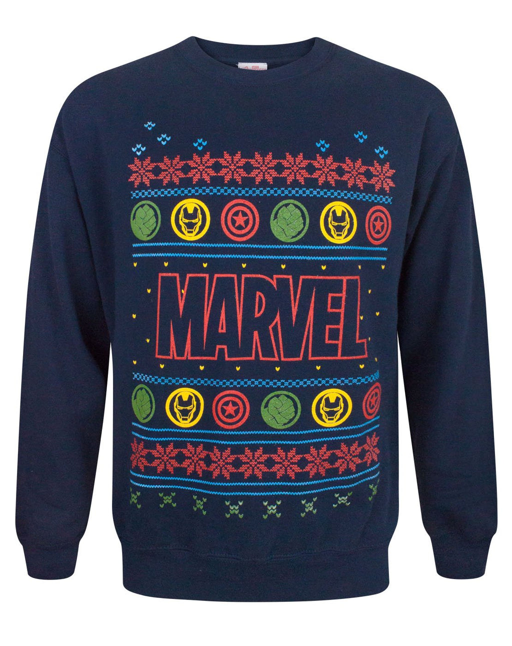 Marvel Logo Christmas Sweatshirt