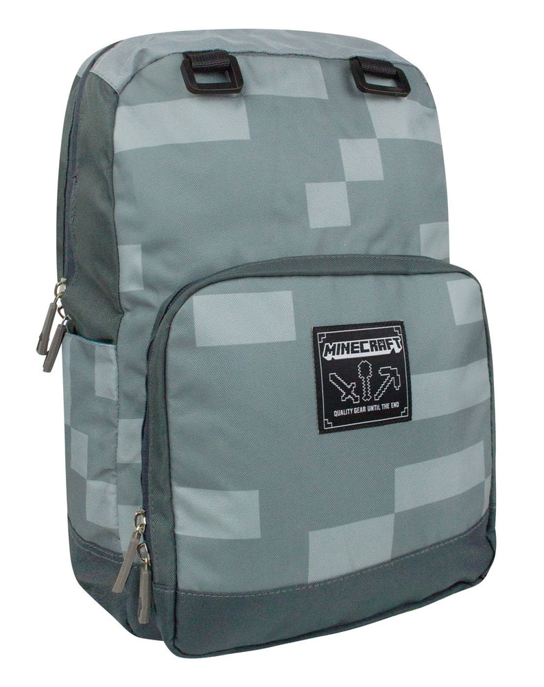 Minecraft Silver Backpack