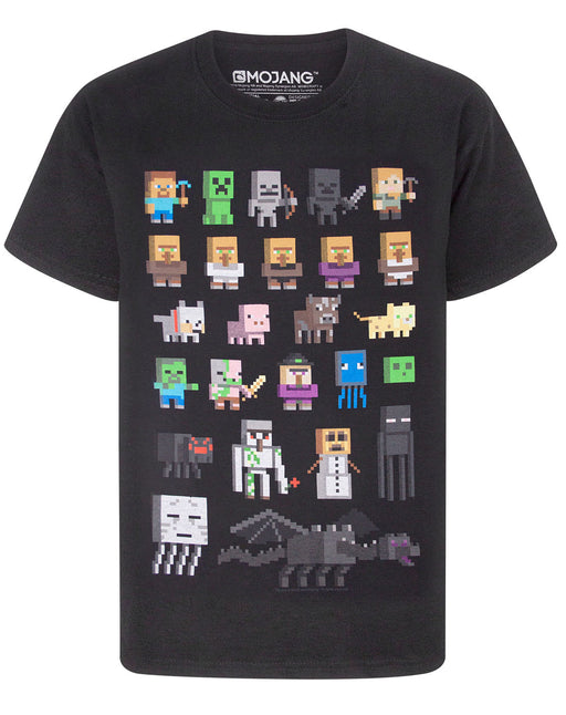AVAILABLE IN VARIETY OF SIZES - This boys Minecraft shirt comes in sizes; 3-4, 5-6, 7-8, 9-10, 11-12, 12-13 and 14-15 years. They come in a regular children's fit and are made for ultimate comfort and are a great idea as a Minecraft birthday present or for any special occasion!