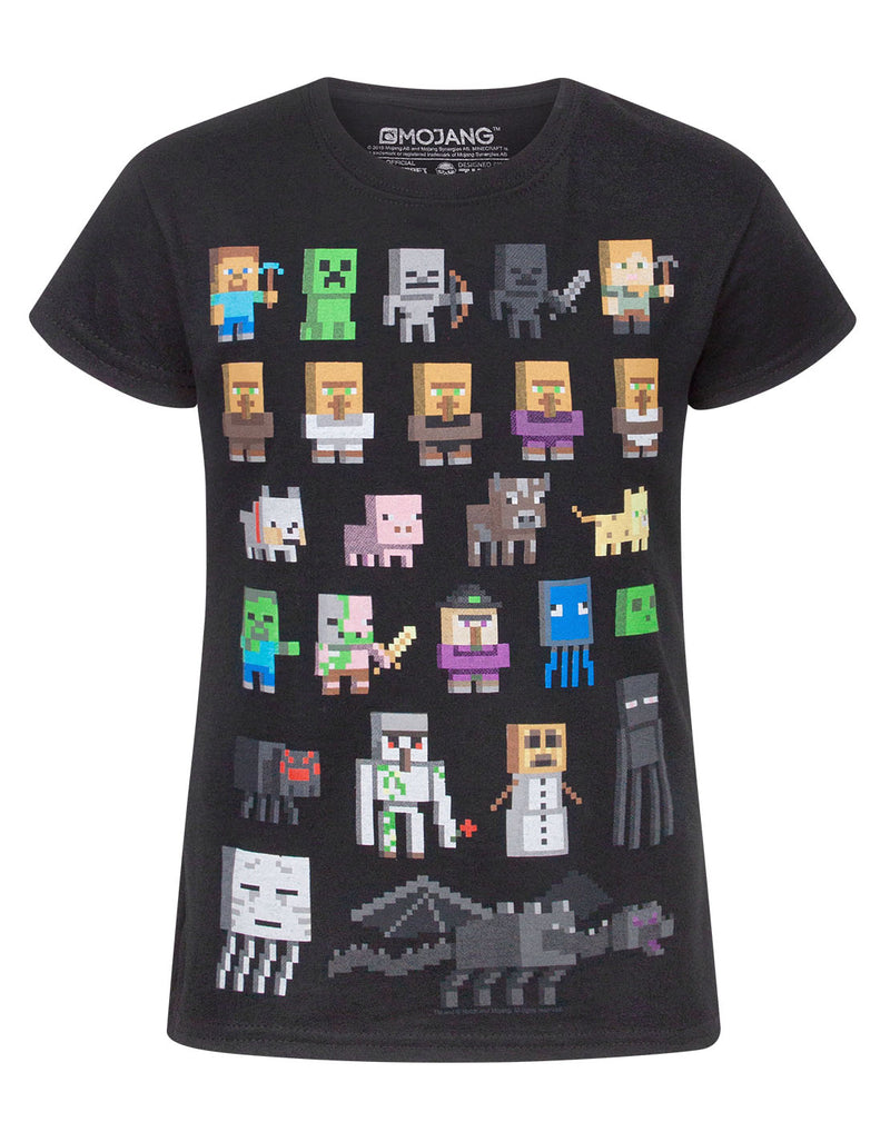 Minecraft Sprites Girl's T-Shirt
