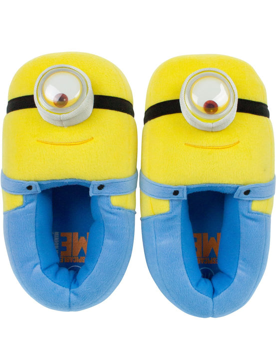 Minions Despicable Me Men's 3D Slippers