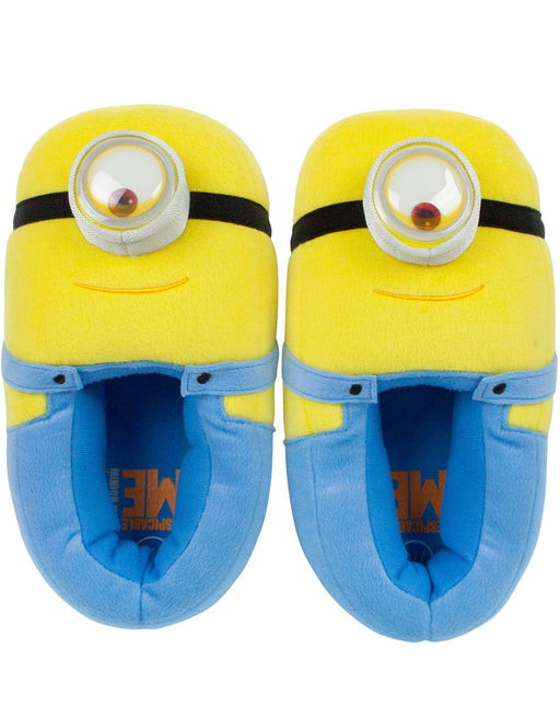 Minions Despicable Me Kid's 3D Slippers