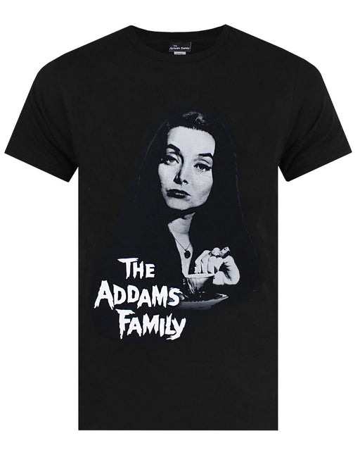 The Addams Family Morticia Addams Gomez Addams Uncle Fester Lurch Wednesday and Pugsley Spooky Gothic TV Series Films Series Movie Women's Ladies Adults Tee T-Shirt Top Tee-Short Short Sleeves Crew Neck Oversized