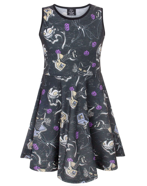 Nightmare Before Christmas Vampire Teddy Girl's Dress