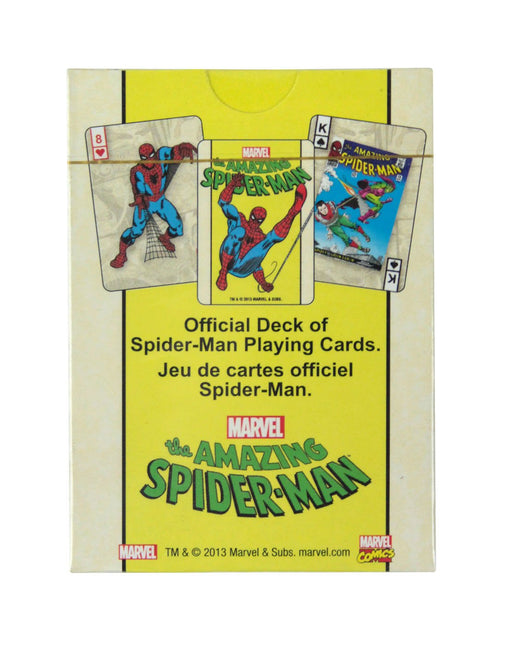 Amazing Spider-Man Playing Cards