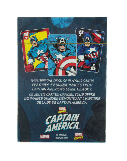 Captain America Retro Playing Cards