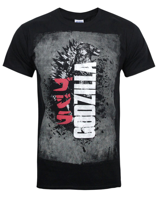 Godzilla King of Monsters Distressed Poster Men's T-Shirt