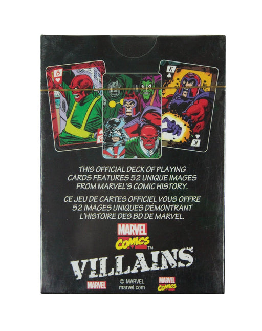 Marvel Villains Playing Cards