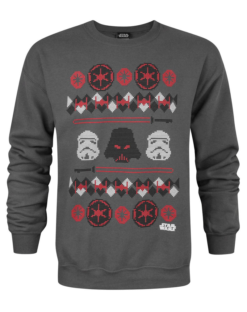 Star Wars Darth Vader Fair Isle Christmas Men's Sweater