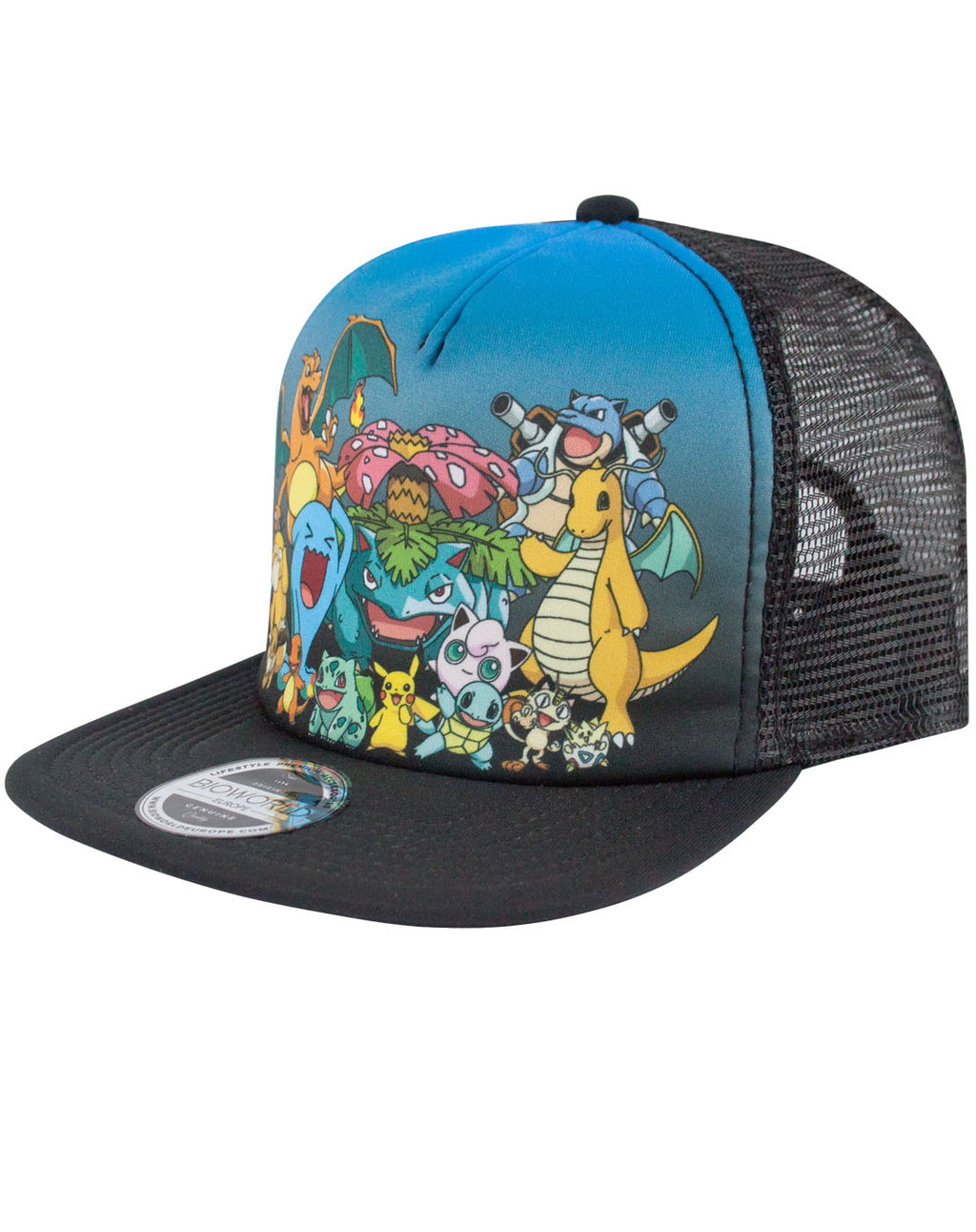 Pokemon Characters Trucker Cap