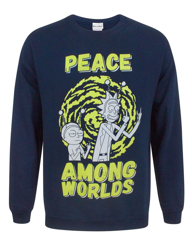 Rick And Morty Peace Among Worlds Men's Sweater