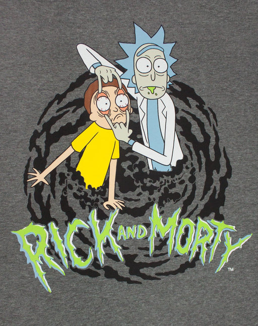 Rick and Morty Portal Pyjamas and Mug Gift Set Bundle