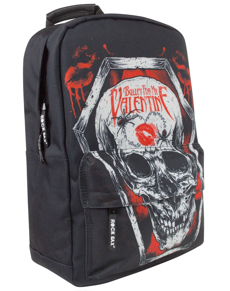 Rock Sax Bullet For My Valentine Coffin Backpack