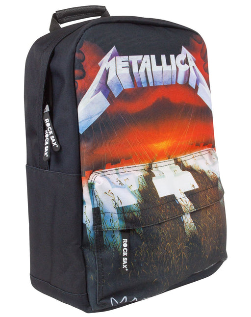 Rock Sax Metallica Master Of Puppets Backpack