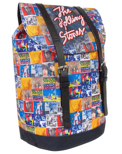Rock Sax The Rolling Stones Vintage Albums Heritage Backpack
