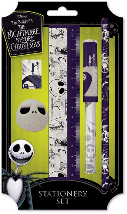 The Nightmare Before Christmas Stationary Set