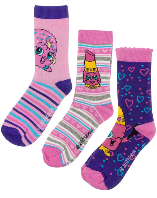 Shopkins Assorted Girl's Socks Set 2