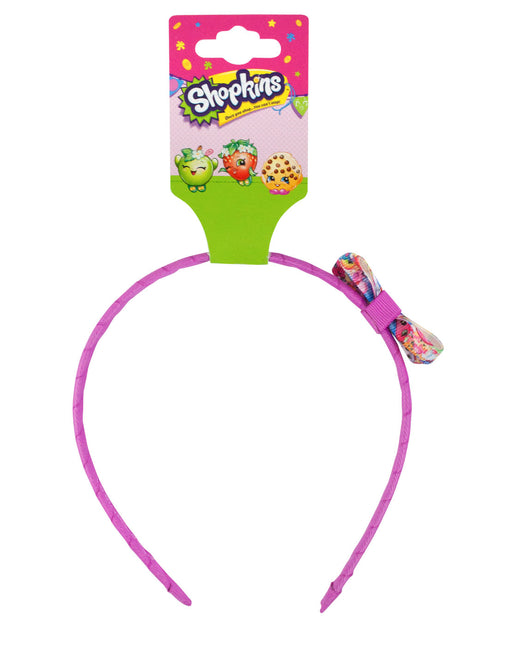Shopkins Printed Alice Bow Head Band