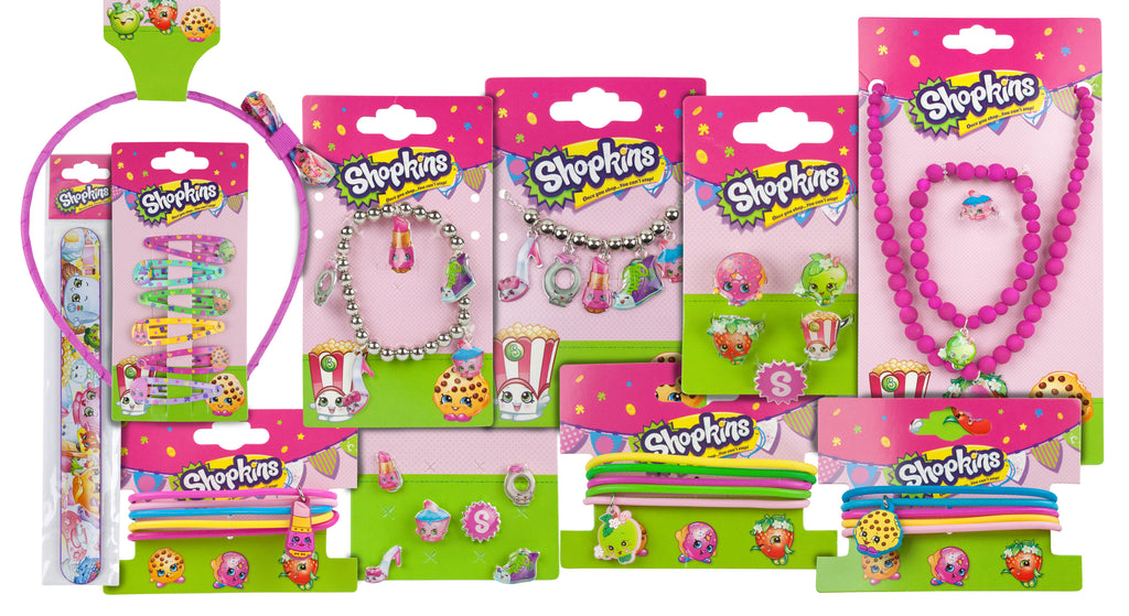 Shopkins Girls Accessories Mystery Bundle Gift Set