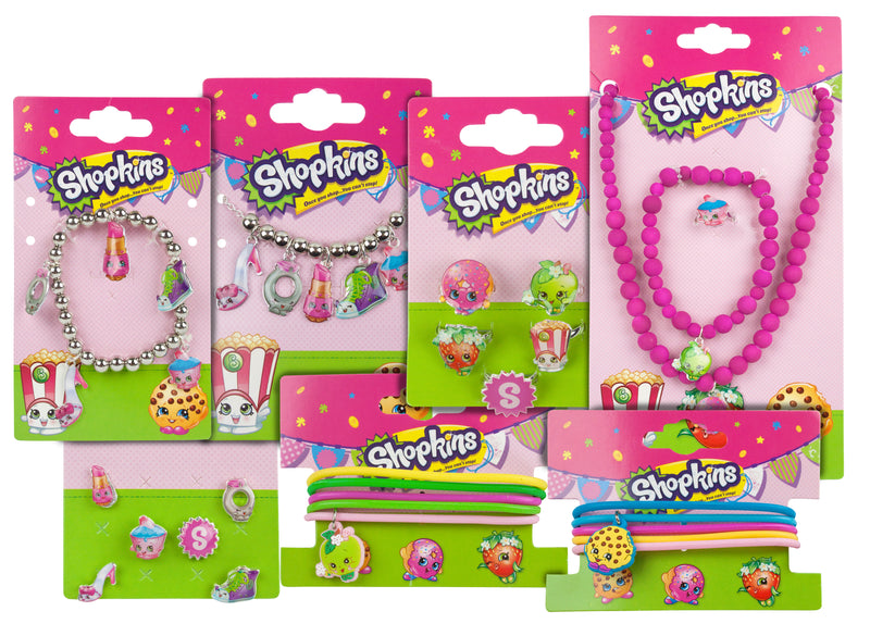 Shopkins Girls Accessories Variety Gift Set Bundle