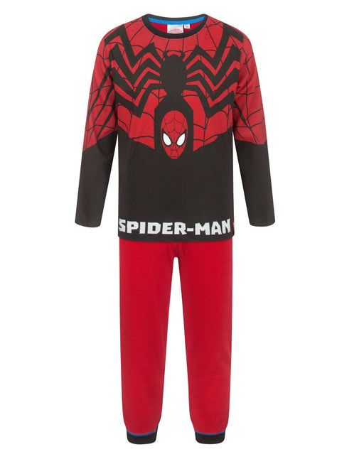 Spider-Man Red And Black Costume Boy's Pyjamas