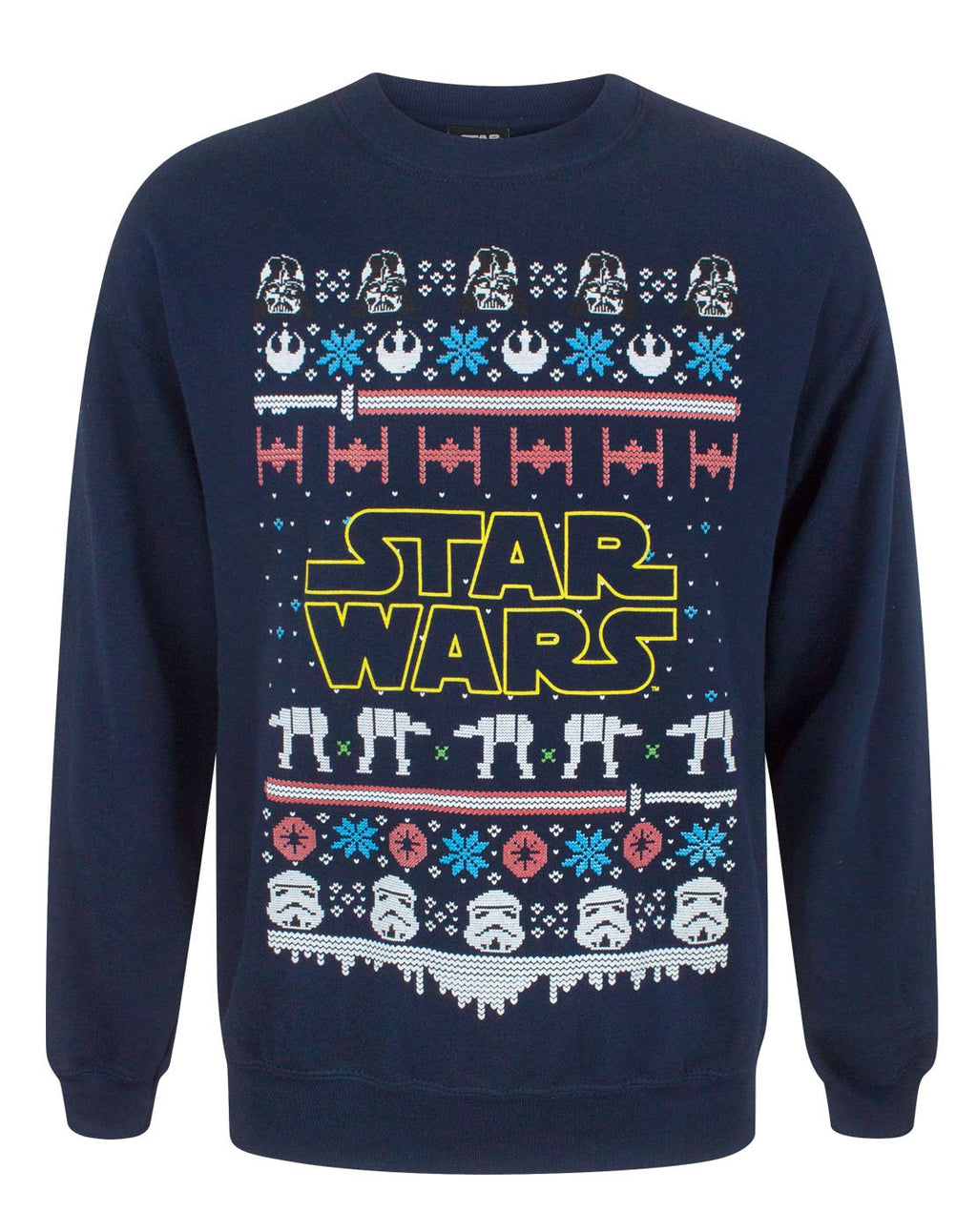 Star Wars Logo Christmas Sweatshirt