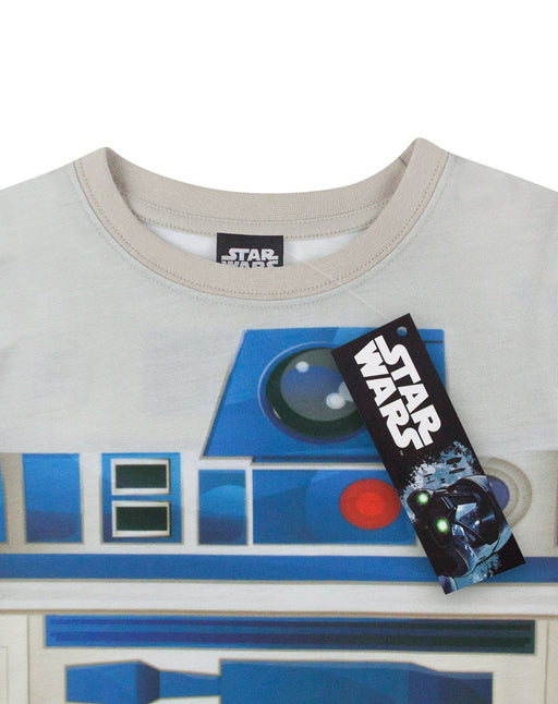 Star Wars R2-D2 Multicoloured Boy's Sublimation Costume T-Shirt