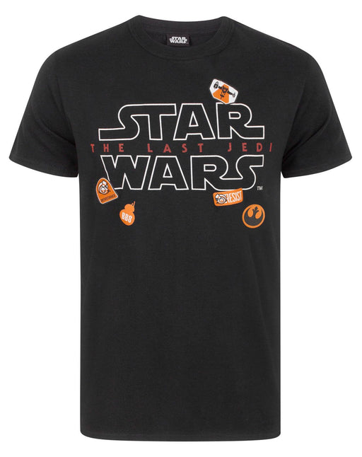 Star Wars The Last Jedi Badges Men's T-Shirt