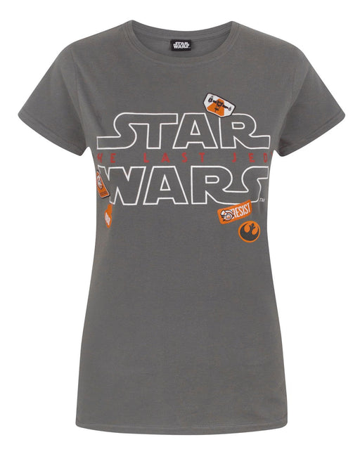 Star Wars The Last Jedi Badges Women's T-Shirt