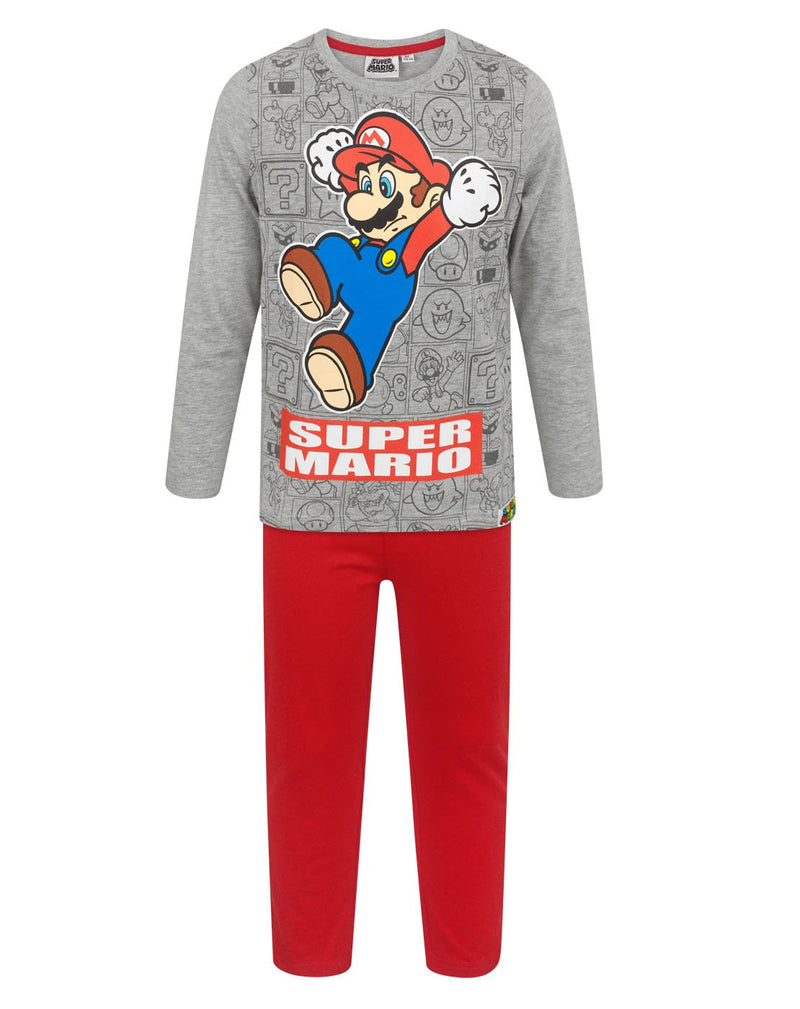 Super Mario Jump Boy's Pyjamas