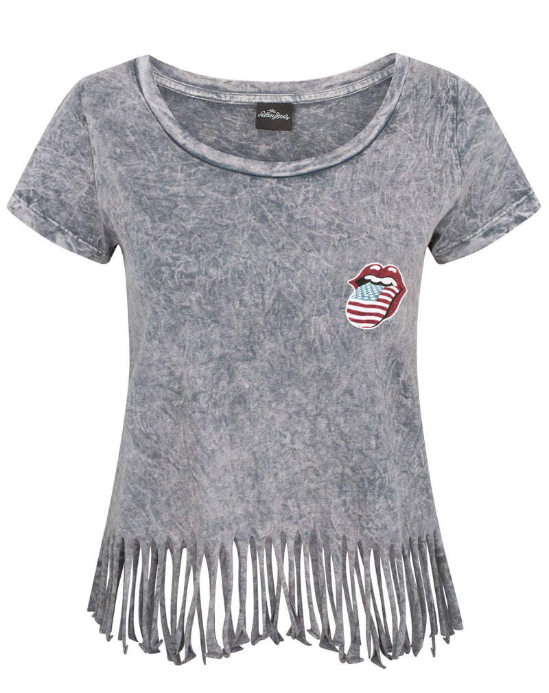 The Rolling Stones Women's Fringe T-Shirt