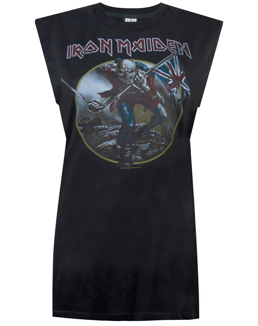 Amplified Iron Maiden Trooper Women's Sleeveless T-shirt