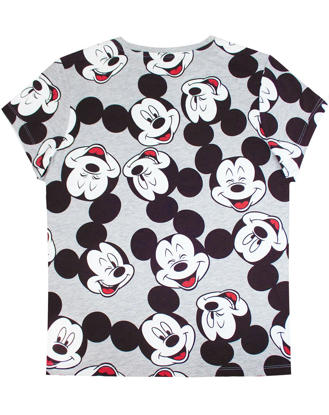 ff646092 Disney Mickey Mouse Character All Over Print Women's Boyfriend Fit T-Shirt