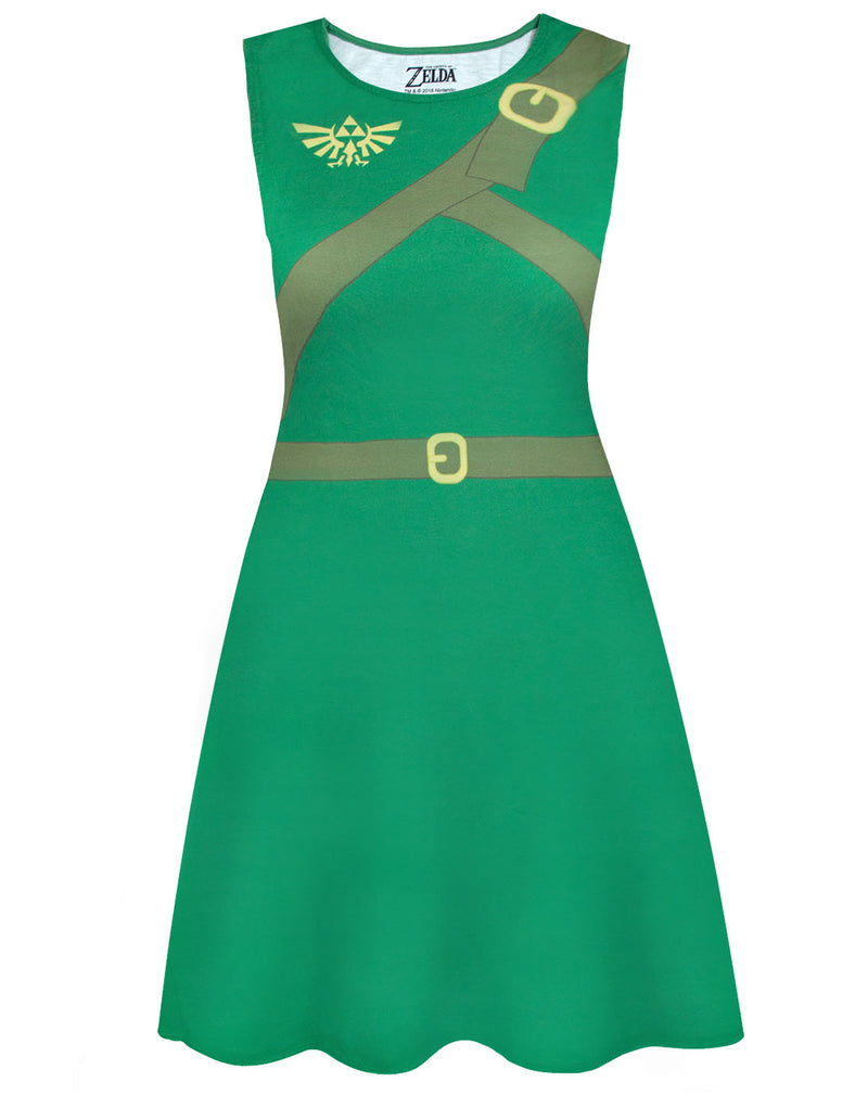 The Legend Of Zelda Classic Costume Dress