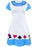 Disney Alice In Wonderland Costume Dress