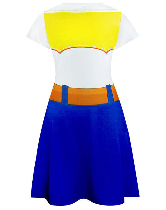 Disney Pixar Toy Story Jessie Women's Ladies Costume Outfit Dress