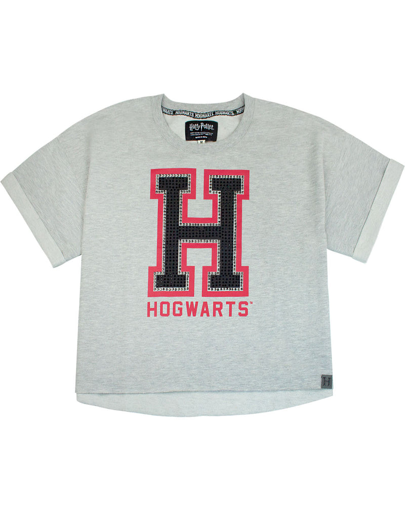c89a275290a31 Harry Potter Hogwarts Alumni Womens Ladies Cropped T-Shirt Sizes S-XL.  Quick View
