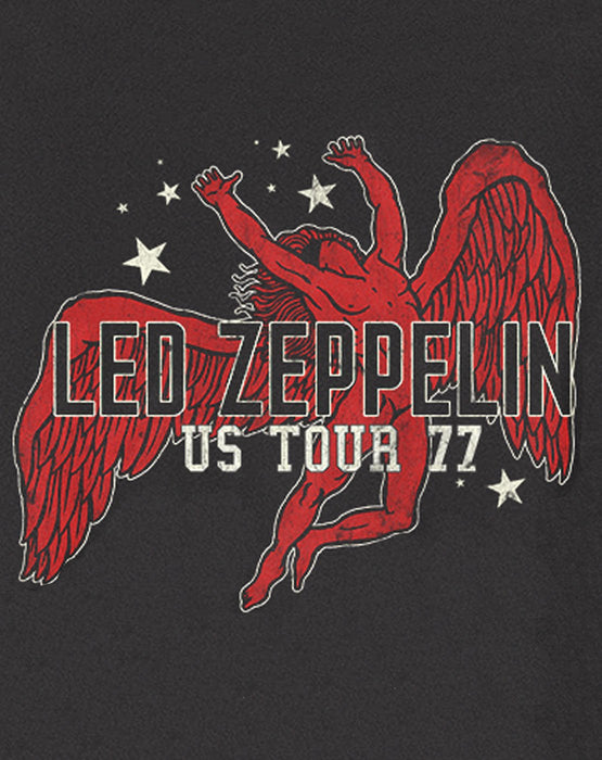 Amplified Led Zeppelin Icarus US 77 Tour Womens T-Shirt